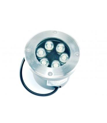 FOCO LED EMPOTRABLE SUELO 6W 12V