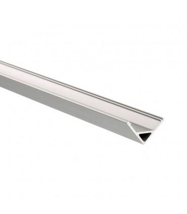 perfil de aluminio para tiras de esquina