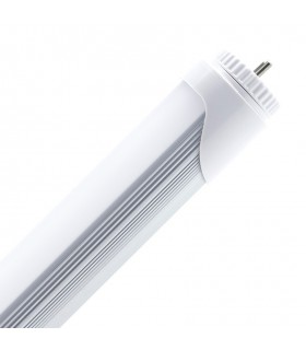 TUBO LED T8 ALUMINIO PC 1.500 MM 24W