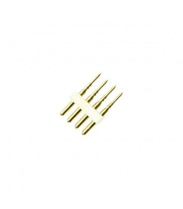 CONECTOR 4 PIN RGB 220V TIRA LED