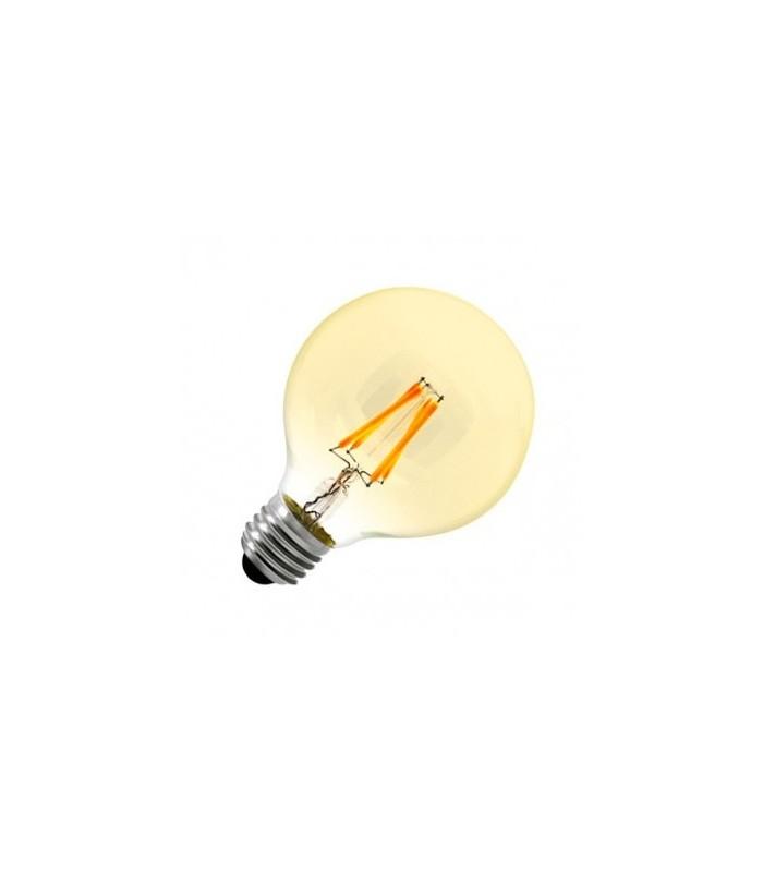 BOMBILLA LED G80 FILAMENTO E27 7W 2300K
