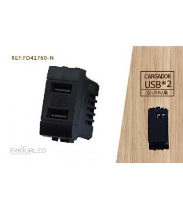 TOMA USB/ CARGADOR DOBLE