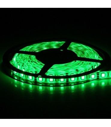 TIRA DE LED 12V SMD 5050 VERDE IP20
