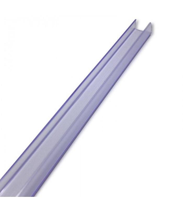 PERFIL PVC TIRA LED 220V 2M