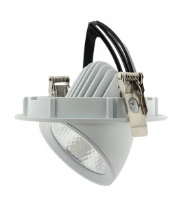FOCO DOWNLIGHT ORIENTABLE BLANCO 15W