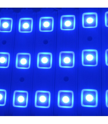 MODULO LED COLOR AZUL 0,75W/UD 3 CHIPS