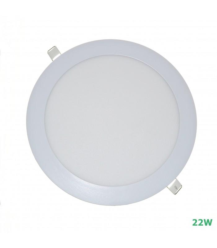 PLACA LED REDONDA 20W