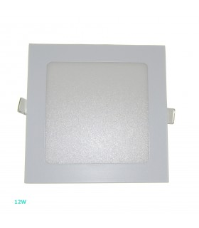 PLACA LED CUADRADA 12W