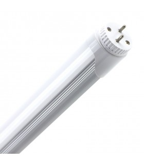 TUBO LED T8 ALUMINIO PC 1200 MM 18W CONEX UN LADO