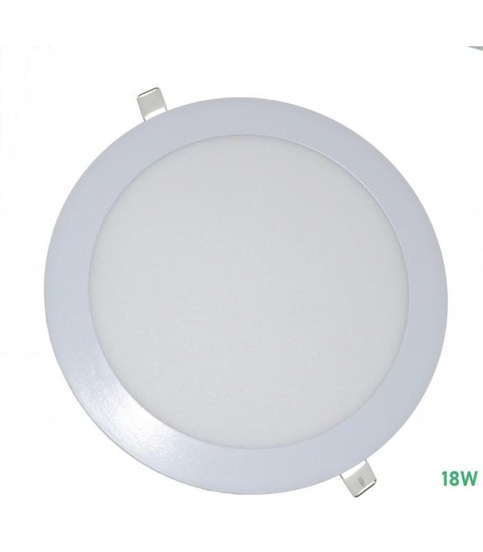 PLACA LED REDONDA 18W