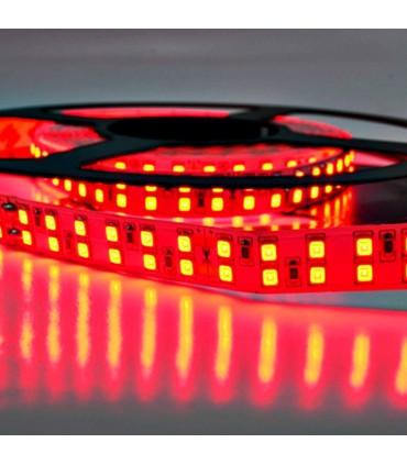 TIRA LED 24V doble fila rojo detalle