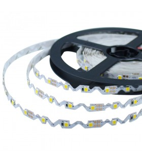 "TIRA DE LED DE 12V ""FORMA S"" FLEXIBLE SMD 2835 IP20"