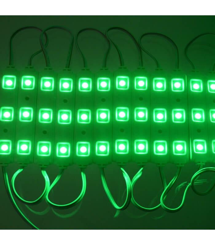 MODULO LED COLOR VERDE 0,75W/UD 3 CHIPS