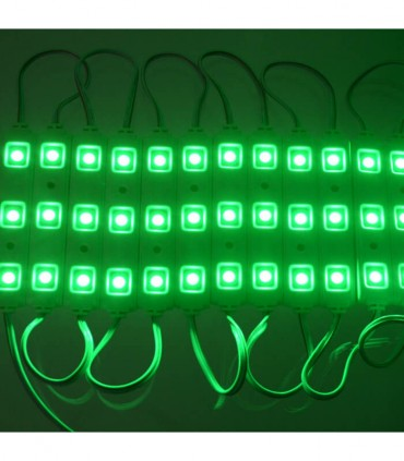 MODULO LED COLOR VERDE 0,75W/UD 3 CHIPS
