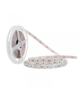 TIRA LED 24V SMD 5050 IP20 RGB 14.4W/M