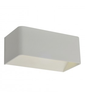APLIQUE PARED RECTANGULAR BLANCO 3W 4000K