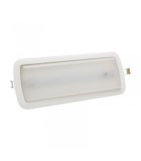 LUZ LED EMERGENCIA SUPERFICIE 3W