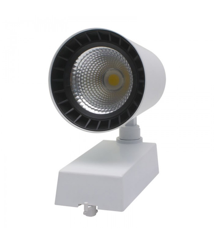 FOCO LED DE CARRIL TRIFASICO 40W