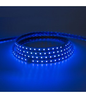 TIRA LED SMD 5050 220V IP65 RGB 60 CHIPS 12W/M