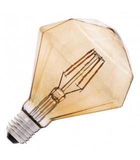BOMBILLA LED G125 DIAMANTE FILAMENTO E27 6W