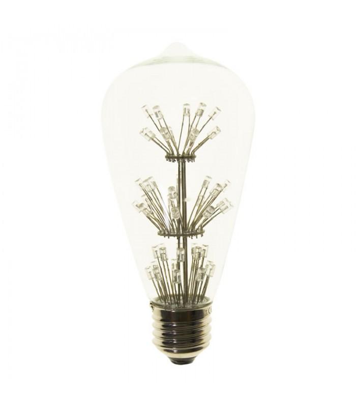 BOMBILLA LED FILAMENTO ST64 RGB E27 6W