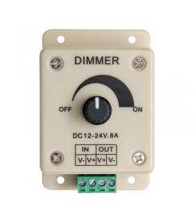DIMMER CONTROL TIRAS DE LED MONOCOLOR 12-24V 8A
