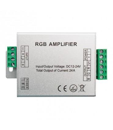AMPLIFICADOR TIRA LED RGB 12-24V 288-576w
