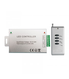 CONTROL REMOTO TIRA LED RGB 12-24V 288-576W