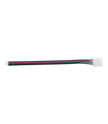 CABLE CONECTOR PARA TIRA LED 12V 10MM RGB 1L