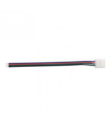 CABLE CONECTOR PARA TIRA LED 12V 10MM RGB 1L
