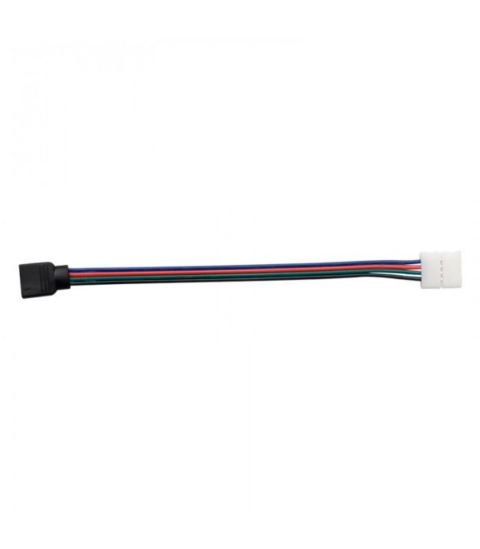 CABLE CONECTOR PARA TIRA LED 12V 10MM RGB HEMBRA