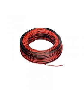 CABLE MULTIFILAMENTO ROJO/NEGRO SOLDAR TIRA LED 2X0,5MM