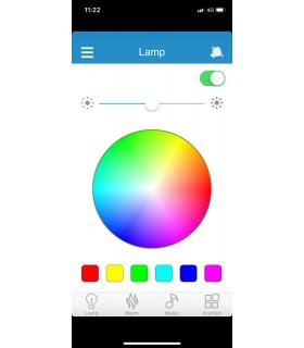 PLAFON 36W BLUETOOTH ALTAVOZ REGULABLE RGB