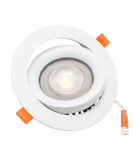FOCO DOWNLIGHT 20W EMPOTRABLE BLANCO
