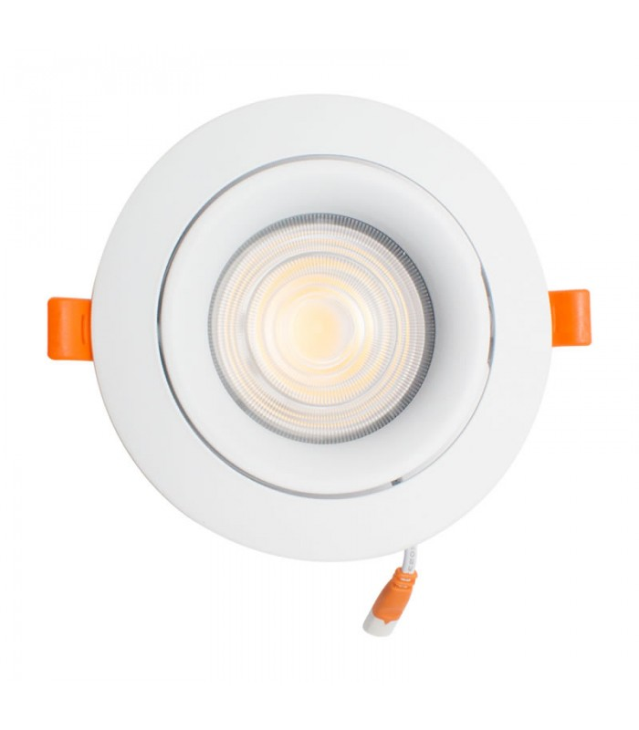 FOCO DOWNLIGHT 15W EMPOTRABLE BLANCO