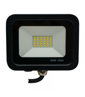 FOCO PROYECTOR LED EXTERIOR SMD 20W IP65