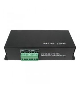 Controlador LED DMX 512 - 4 Canales