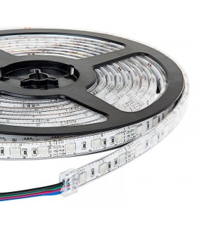 TIRA DE LED 12V SMD 5050 RGB IP65