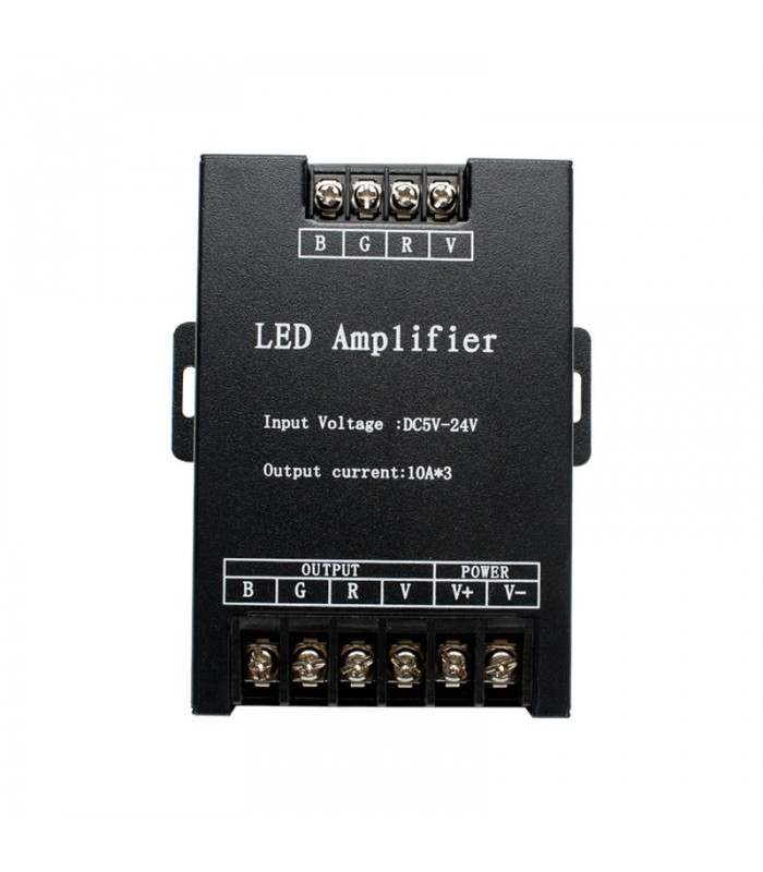 AMPLIFICADOR LED RGB 10A X 3