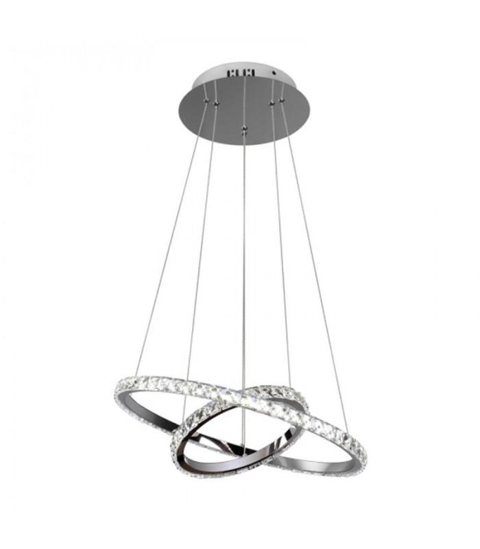 LAMPARA COLGANTE 36W - 3 TONOS DE LUZ