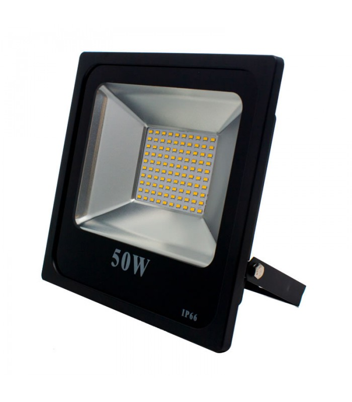 FOCO PROYECTOR LED EXTERIOR 50W SMD 3000K
