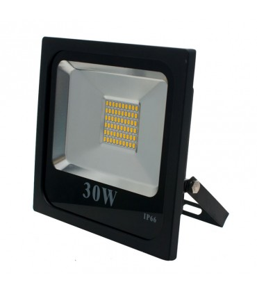 FOCO PROYECTOR LED EXTERIOR 30W SMD 3000K