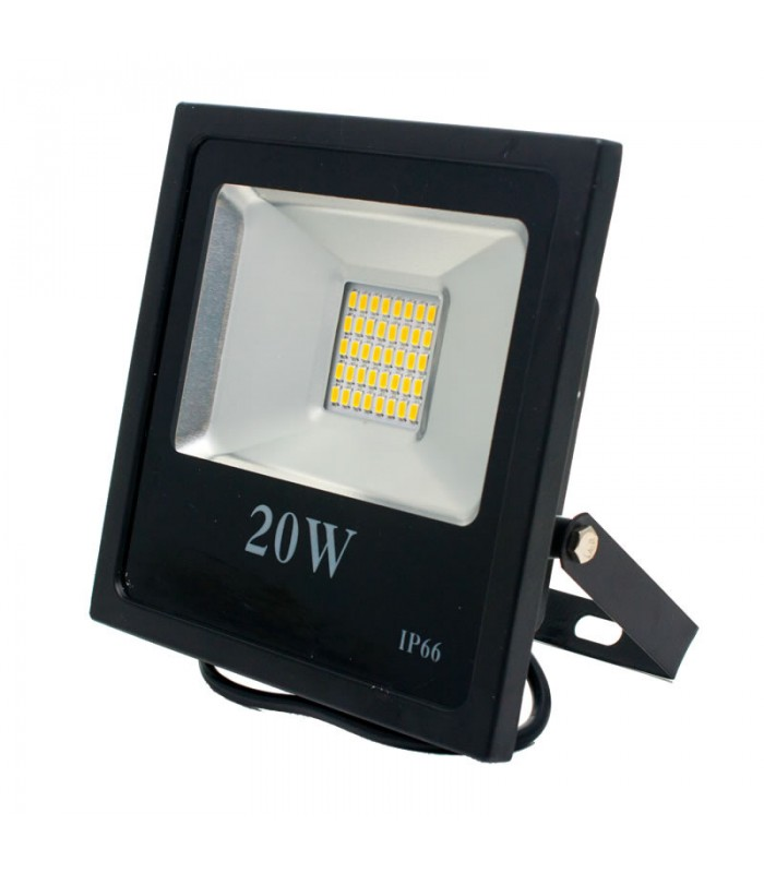 FOCO PROYECTOR LED EXTERIOR 20W SMD 3000K