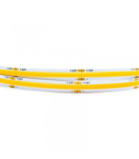 TIRA LED 24V 12W/M COB 3000K - 5 METROS
