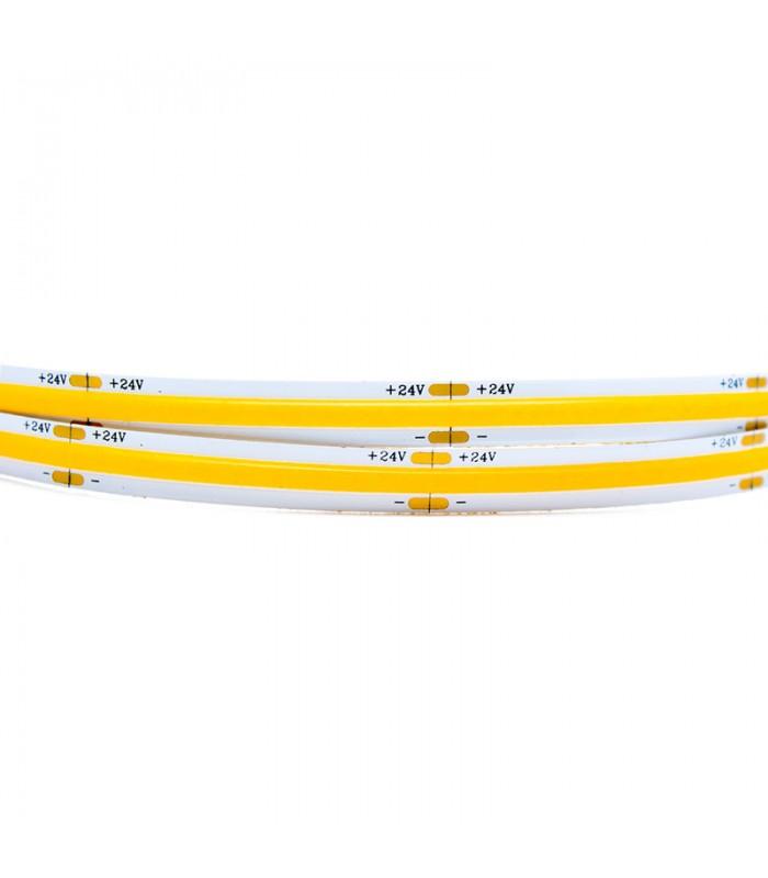 TIRA LED 24V 14W/M COB 300K 5 METROS