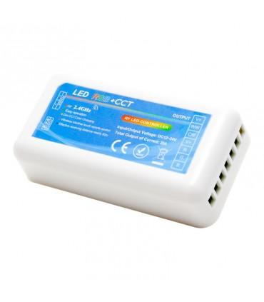 CONTROLADOR RGBW 12/24VDC 2.4GHZ + MANDO