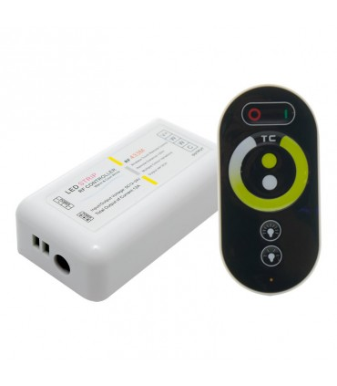 CONTROLADOR RF TACTIL 3000K-6000K 12-24V 4A 3C