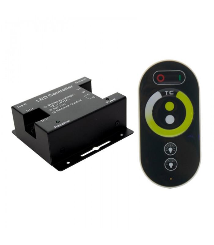 CONTROLADOR RF TACTIL 3000K-6000K 12-24V 6A 2C