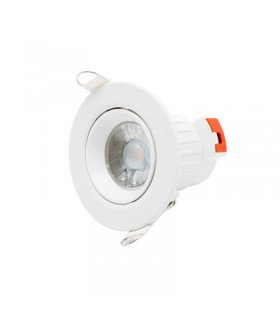 DOWNLIGHT ORIENTABLE 7W 680LM MARCO BLANCO 4000K POPP