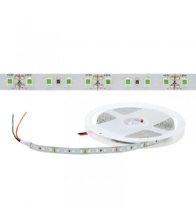TIRA LED 12V VERDE IP20 112CHIP/M 10W/M